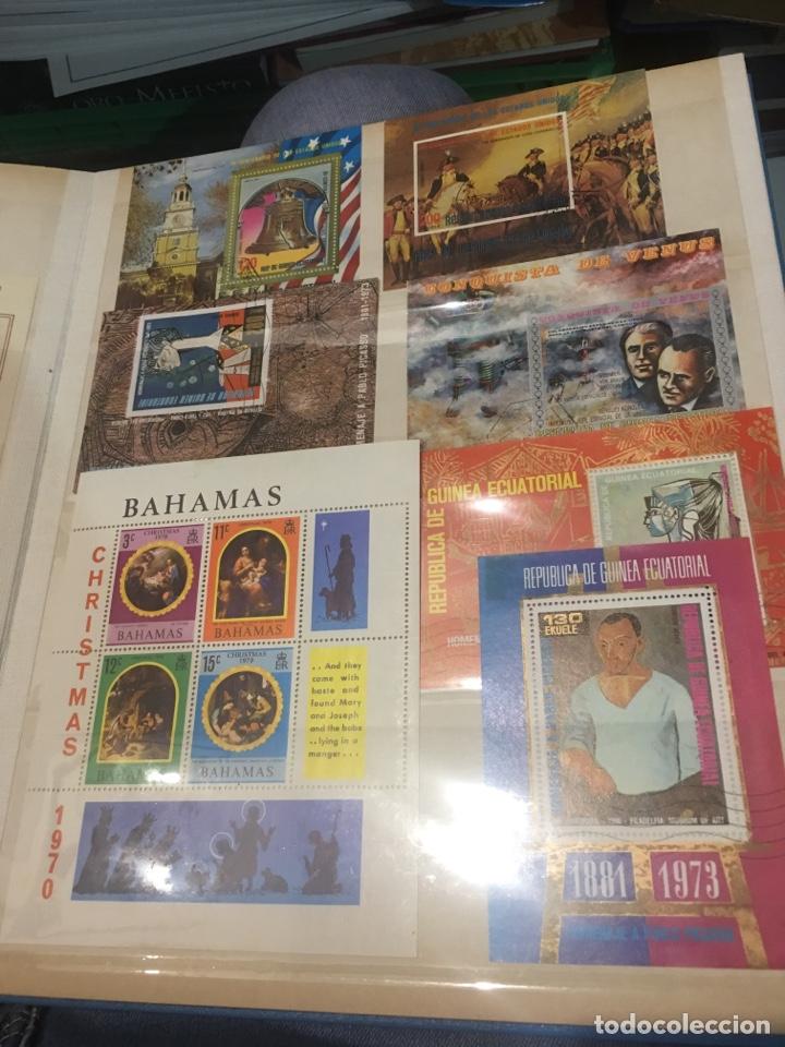 Sellos: Colección de 87 hojas bloque de españa Guinea Alemania y holanda - Foto 5 - 158795048