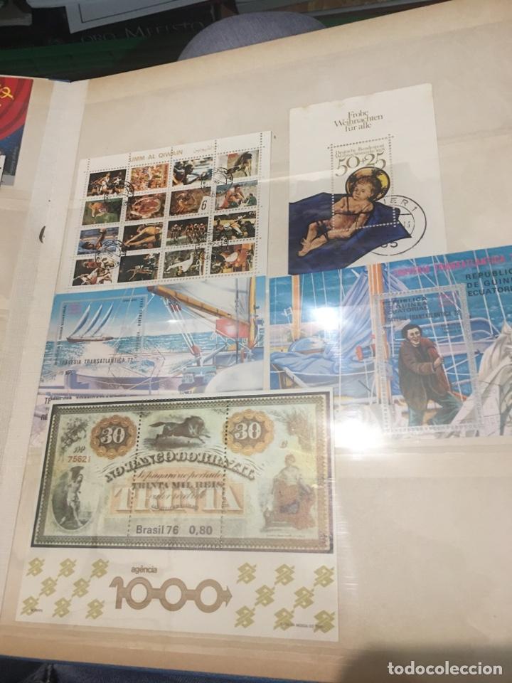 Sellos: Colección de 87 hojas bloque de españa Guinea Alemania y holanda - Foto 7 - 158795048