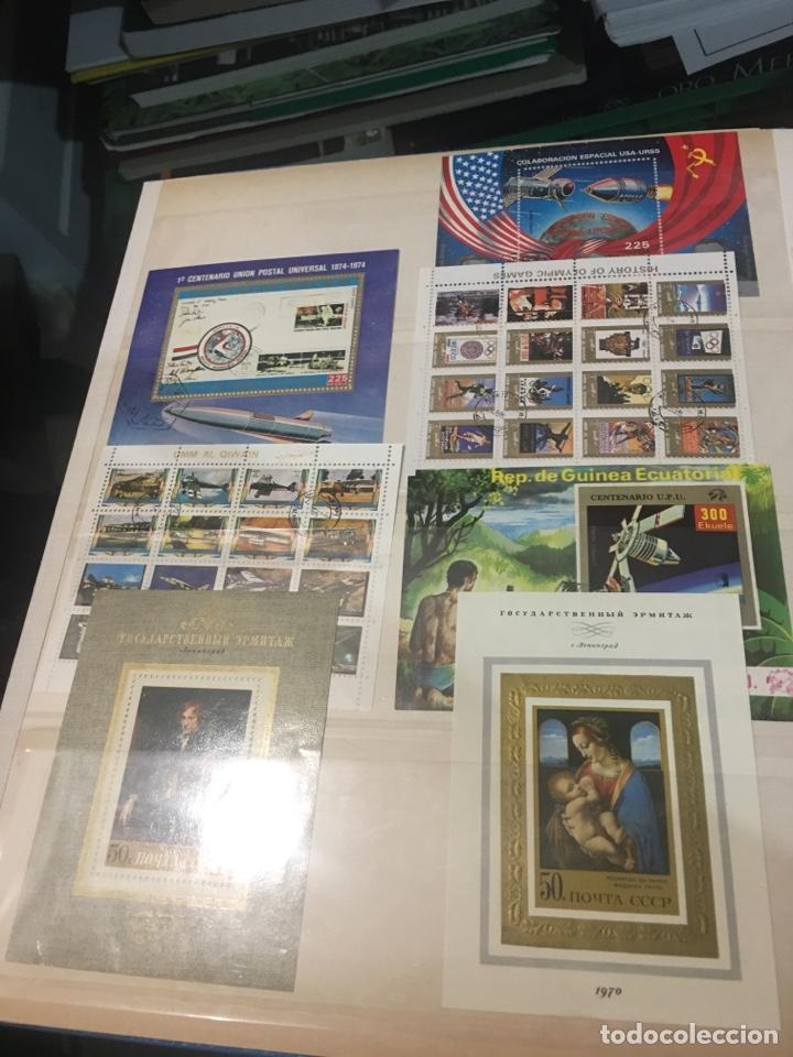 Sellos: Colección de 87 hojas bloque de españa Guinea Alemania y holanda - Foto 8 - 158795048