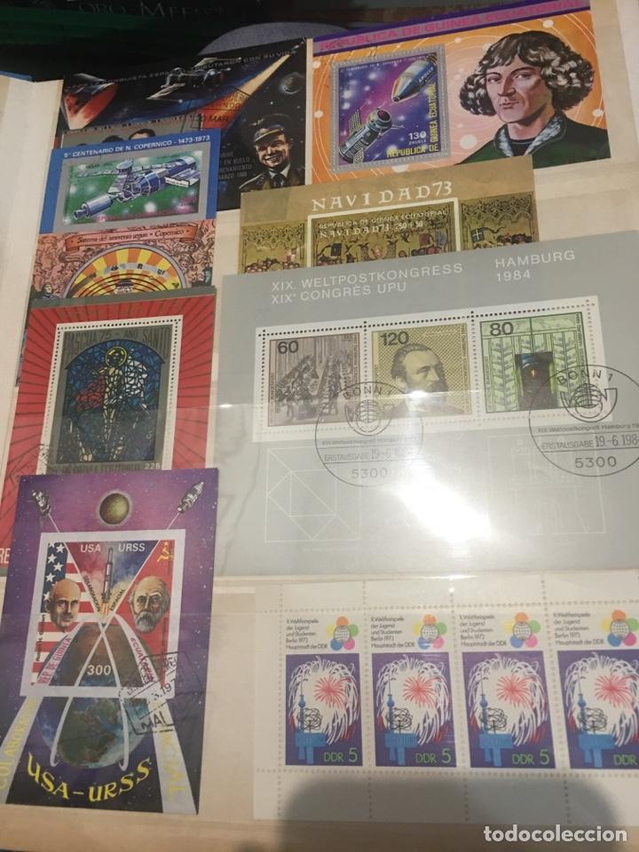 Sellos: Colección de 87 hojas bloque de españa Guinea Alemania y holanda - Foto 9 - 158795048