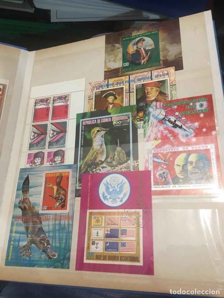Sellos: Colección de 87 hojas bloque de españa Guinea Alemania y holanda - Foto 11 - 158795048