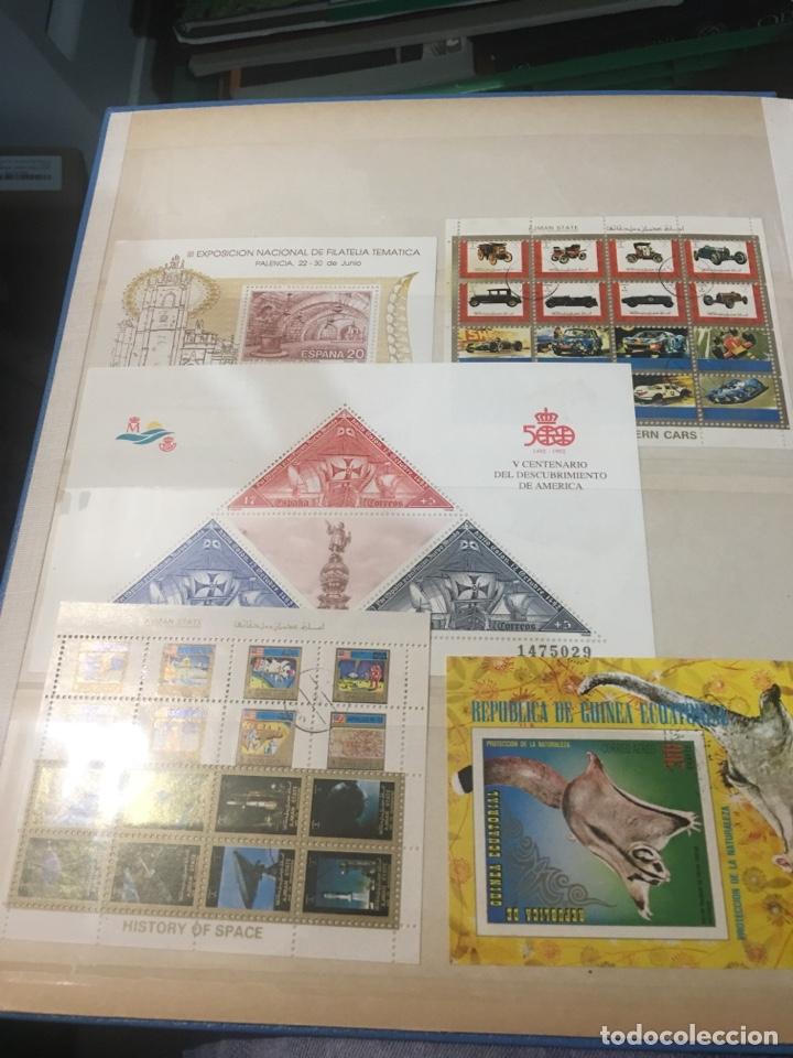 Sellos: Colección de 87 hojas bloque de españa Guinea Alemania y holanda - Foto 12 - 158795048