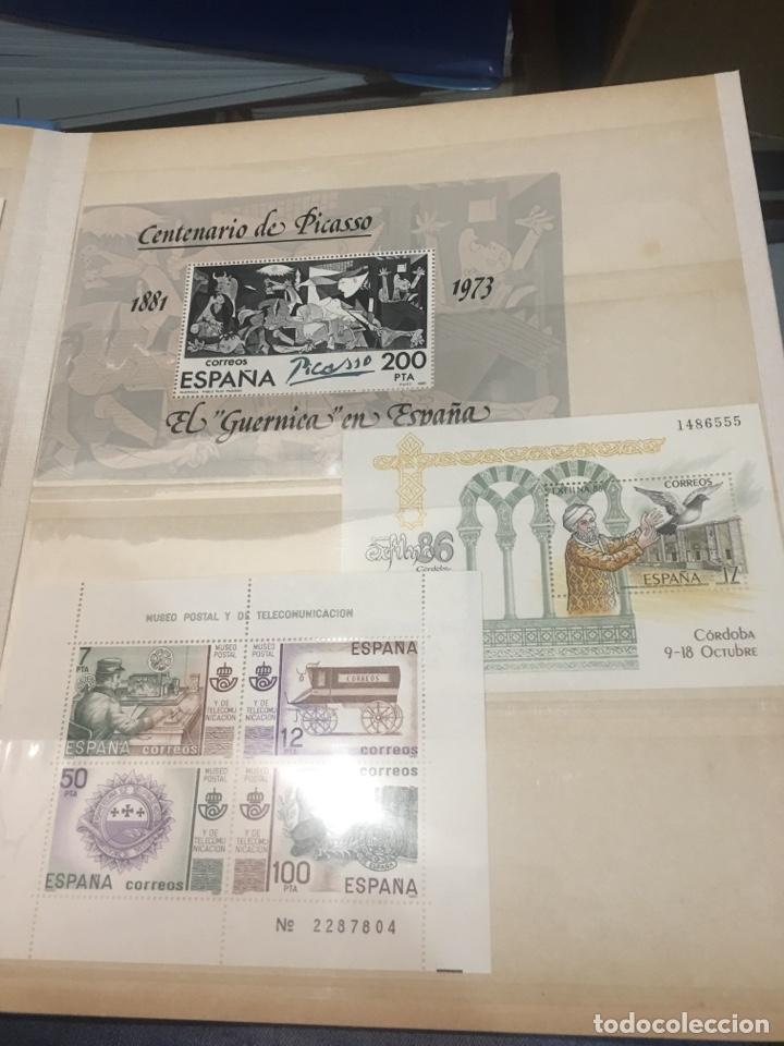 Sellos: Colección de 87 hojas bloque de españa Guinea Alemania y holanda - Foto 13 - 158795048