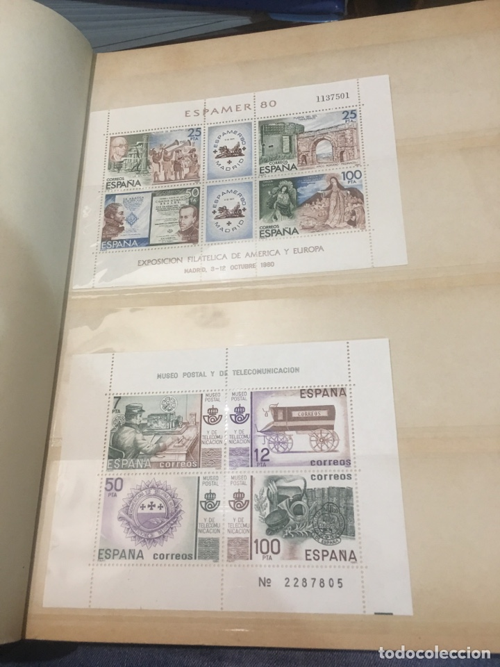 Sellos: Colección de 87 hojas bloque de españa Guinea Alemania y holanda - Foto 15 - 158795048