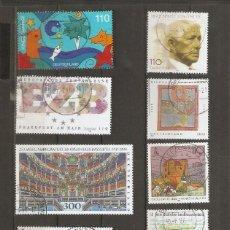 Selos: ALEMANIA FEDERAL. 1998. YV Nº LOTE USADOS. Lote 163572762