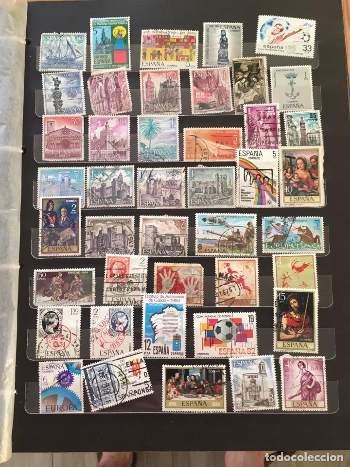 Sellos: Álbum sellos España - Foto 3 - 164945142