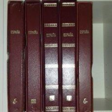 Sellos: SELLOS NUEVOS DESDE EL 1963 AL 2018 55 AÑOS EN 5 ÁLBUNES. Lote 165072214