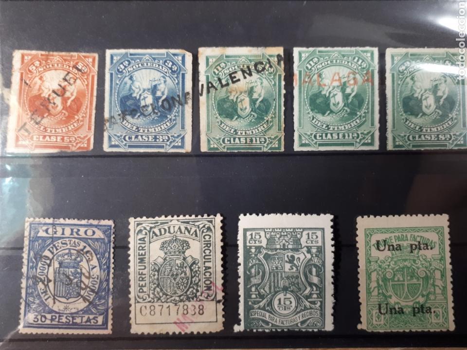 LOTE DE INTERESANTES SELLOS FISCALES 60 (Sellos - Colecciones y Lotes de Conjunto)