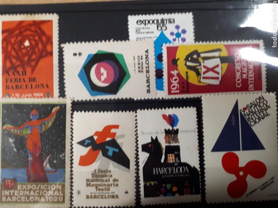 LOTE VARIADO FERIAS DE BARCELONA LOT.73 (Sellos - Colecciones y Lotes de Conjunto)