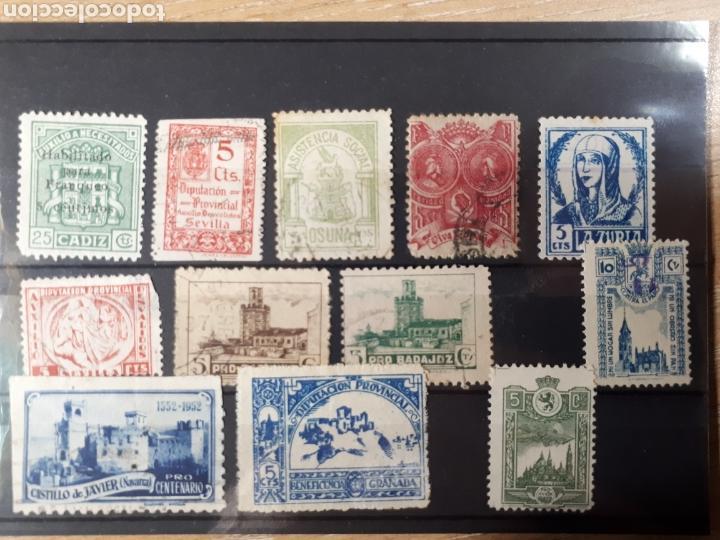 GRAN LOTE VARIADO VIÑETAS LOT.80 (Sellos - Colecciones y Lotes de Conjunto)