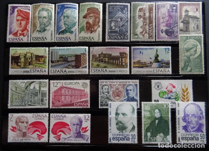 COLECCIÓN DE SERIES DE SELLOS NUEVOS DE ESPAÑA (Sellos - Colecciones y Lotes de Conjunto)