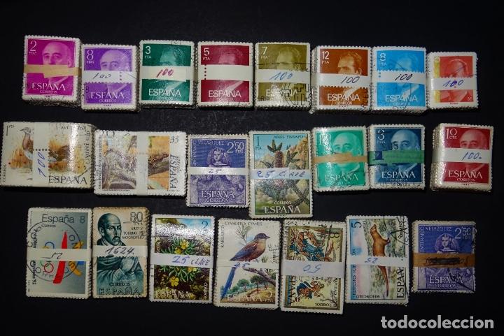 Sellos: Colección de 1500 sellos en pastillas, ver comentarios y fotos - Foto 2 - 171626868