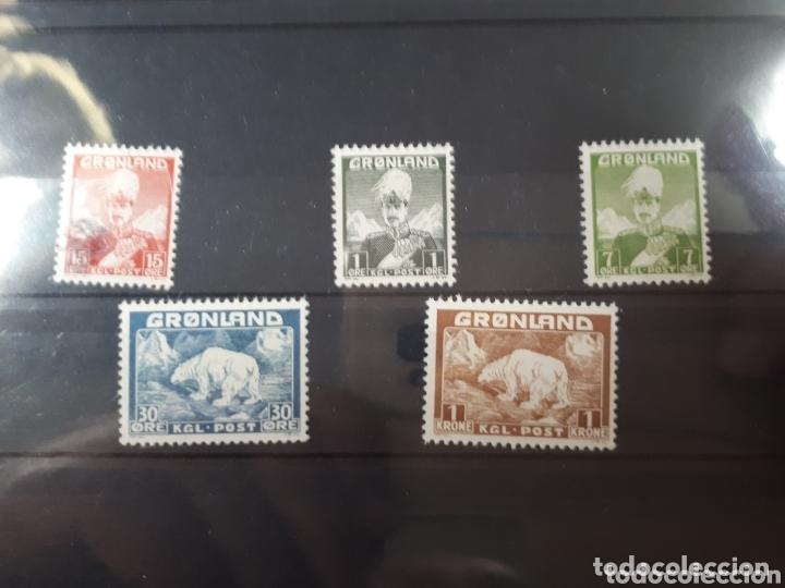 SELLOS DE GROENLANDIA AÑI 1938 LOT.N.794 (Sellos - Colecciones y Lotes de Conjunto)
