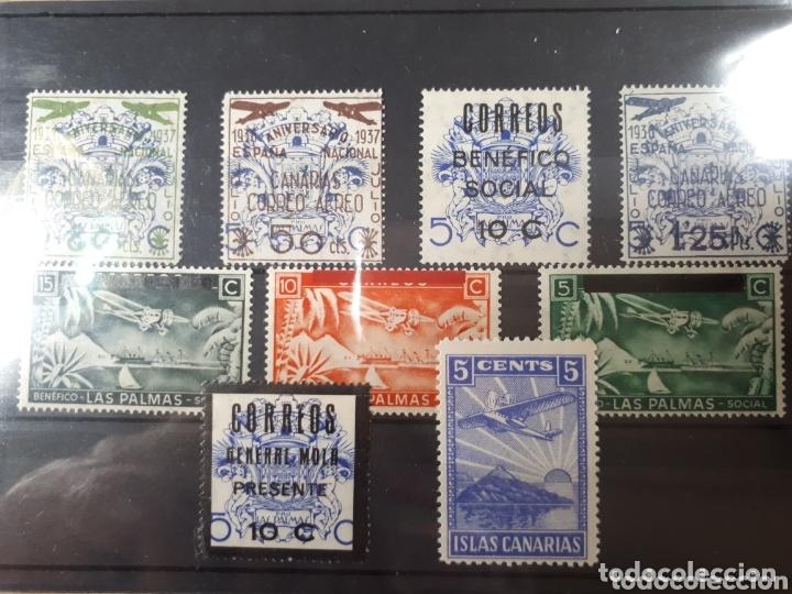 SELLOS DE ESPAÑA CANARIAS AÑO 1937 LOT.N.815 (Sellos - Colecciones y Lotes de Conjunto)