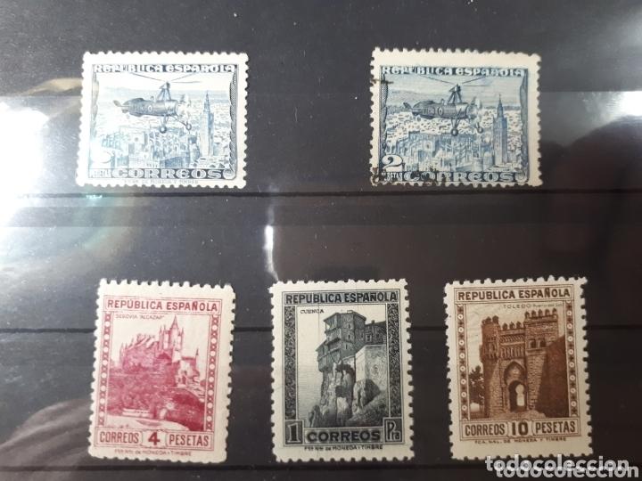 SELLOS DE ESPAÑA DE LOS AÑOS 1935 Y 1938 LOT.N.850 (Sellos - Colecciones y Lotes de Conjunto)