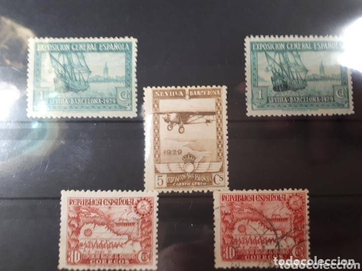 SELLOS DE ESPAÑA AÑO 1929 EDIF.434-448-694 LOT.N.851 (Sellos - Colecciones y Lotes de Conjunto)