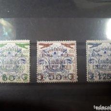 Sellos: SELLOS DE ESPAÑA BENEFICOS CANARIAS AÑO 1937 LOT.N.1013. Lote 172419695