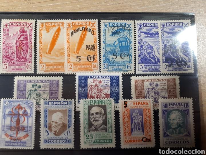 SELLOS BENEFICIENCIA Y HUERFANOS LOTE .N.10034 (Sellos - Colecciones y Lotes de Conjunto)