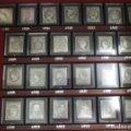 Lote 175673193: Colección de 25 Primeros Sellos de la Filatelia Española - En Plata Fina 999 Mil. - Con Certificado