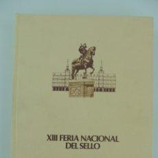 Sellos: ALBUM XIII FERIA NACIONAL DEL SELLO . PLAZA MAYOR MADRID 1980 NUMERO 0005. Lote 175731050