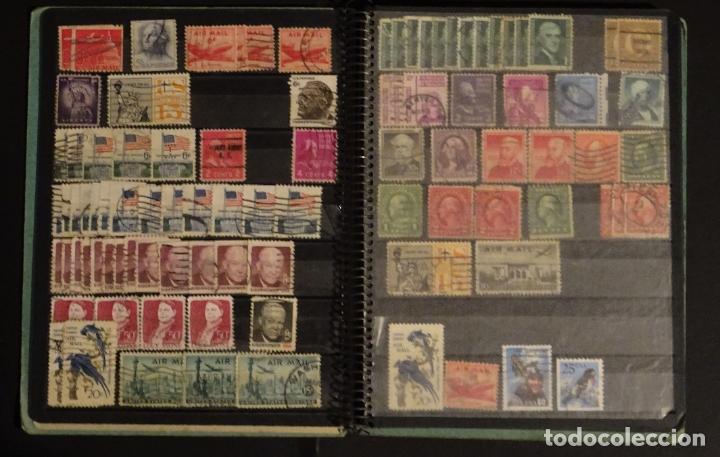Sellos: Antiguo Clasificador con unos 650 sellos de America usados , ver fotos y comentarios - Foto 4 - 178061413