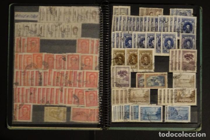 Sellos: Antiguo Clasificador con unos 650 sellos de America usados , ver fotos y comentarios - Foto 6 - 178061413