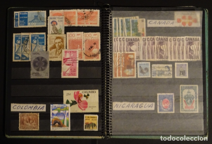 Sellos: Antiguo Clasificador con unos 650 sellos de America usados , ver fotos y comentarios - Foto 8 - 178061413