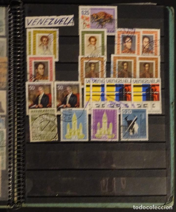 Sellos: Antiguo Clasificador con unos 650 sellos de America usados , ver fotos y comentarios - Foto 9 - 178061413
