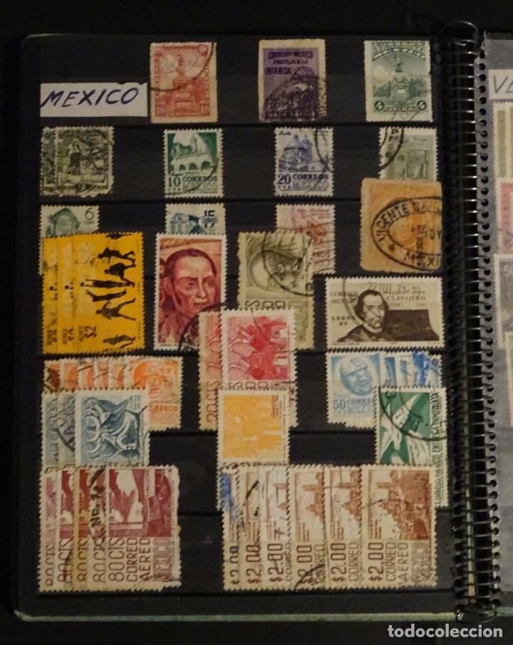 Sellos: Antiguo Clasificador con unos 650 sellos de America usados , ver fotos y comentarios - Foto 10 - 178061413
