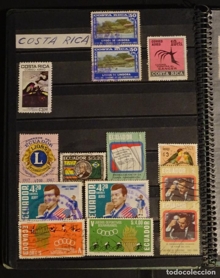 Sellos: Antiguo Clasificador con unos 650 sellos de America usados , ver fotos y comentarios - Foto 12 - 178061413