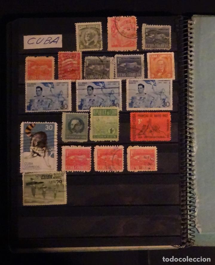 Sellos: Antiguo Clasificador con unos 650 sellos de America usados , ver fotos y comentarios - Foto 13 - 178061413