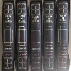 Sellos: 1990/2010- ESPAÑA COLECCIÓN DE SELLOS DE ESPAÑA COMPLETA MONTADA EN 5 ÁLBUMES NUEVA SIN FIJASELLOS. Lote 178187692