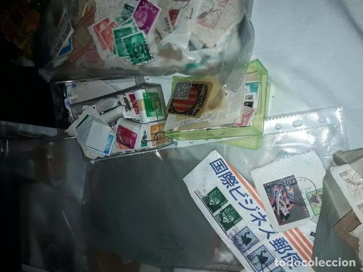 Sellos: Magnífico gran lote de mas 10.000 sellos de todo Mundo nuevos y usados - Foto 3 - 178196537