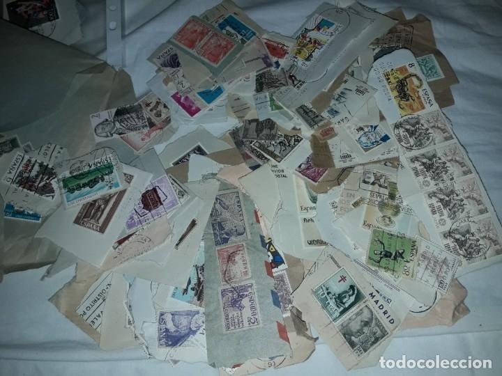 Sellos: Magnífico gran lote de mas 10.000 sellos de todo Mundo nuevos y usados - Foto 6 - 178196537