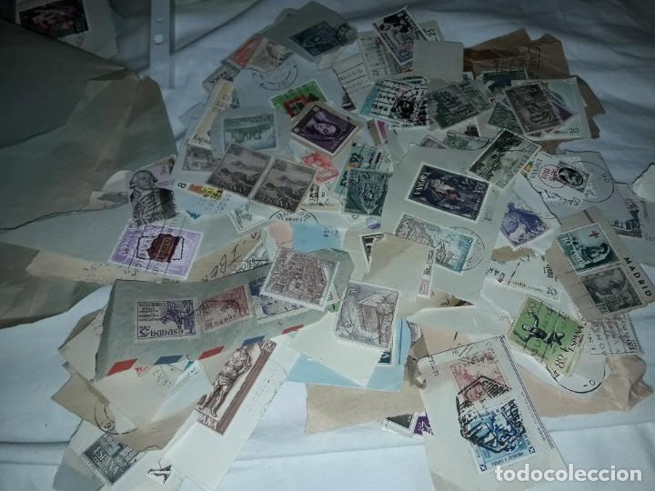 Sellos: Magnífico gran lote de mas 10.000 sellos de todo Mundo nuevos y usados - Foto 7 - 178196537