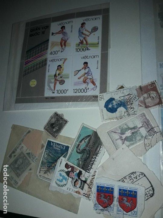Sellos: Magnífico gran lote de mas 10.000 sellos de todo Mundo nuevos y usados - Foto 13 - 178196537