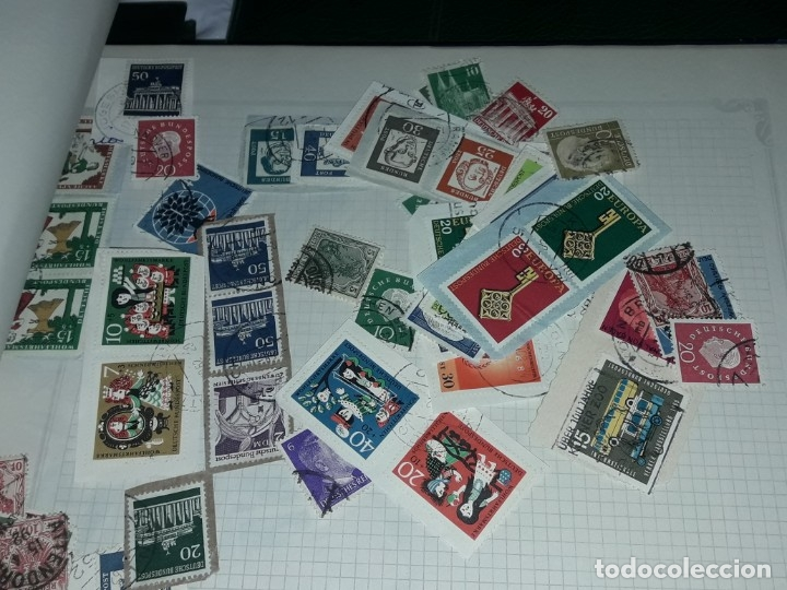 Sellos: Magnífico gran lote de mas 10.000 sellos de todo Mundo nuevos y usados - Foto 48 - 178196537