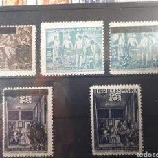 Sellos: SELLOS BENEFICOS AÑO 1938 Y 1941 VELAZQUEZ LOT.P109. Lote 181213755