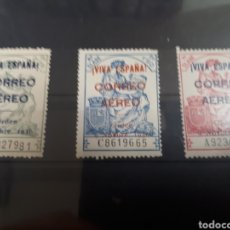 Sellos: SELLOS DE ESPAÑA CORREO AEREO AÑO 1937 N.162 162B 163 LOT.P134. Lote 181221775