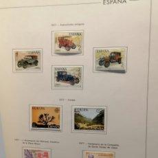 Timbres: COLECCIÓN SELLOS ESPAÑA 1969 A 1977 NUEVO Y USADO ÁLBUM EDIFIL. Lote 182870485