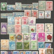 Sellos: REPUBLICA DOMINICANA CONJUNTO DE SELLOS USADOS. Lote 182995292