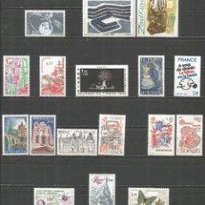 Sellos: FRANCIA 1980 CONJUNTO DE SERIES COMPLETAS ** NUEVAS SIN FIJASELLOS VALOR CAT. 18,10 EUROS. Lote 183286813