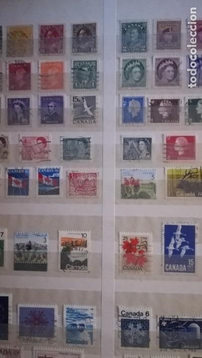 Sellos: LOTE DE 6 ALBUNES DE SELLOS MUNDIALES.MAS DE 4000 SELLOS Y MAS DE 100 PAISES - Foto 9 - 183574575