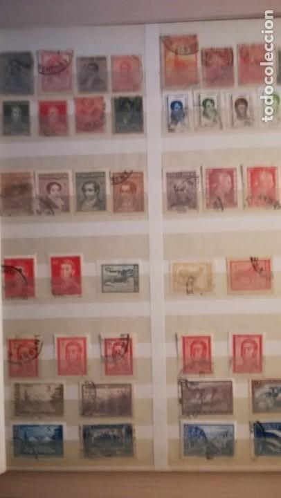 Sellos: LOTE DE 6 ALBUNES DE SELLOS MUNDIALES.MAS DE 4000 SELLOS Y MAS DE 100 PAISES - Foto 10 - 183574575