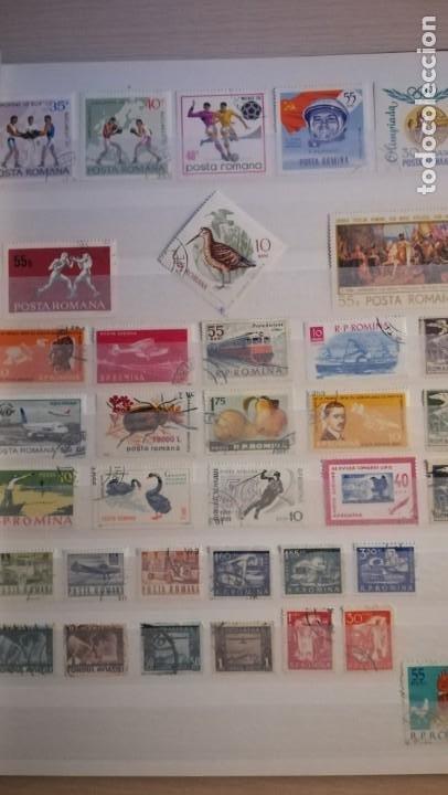 Sellos: LOTE DE 6 ALBUNES DE SELLOS MUNDIALES.MAS DE 4000 SELLOS Y MAS DE 100 PAISES - Foto 13 - 183574575