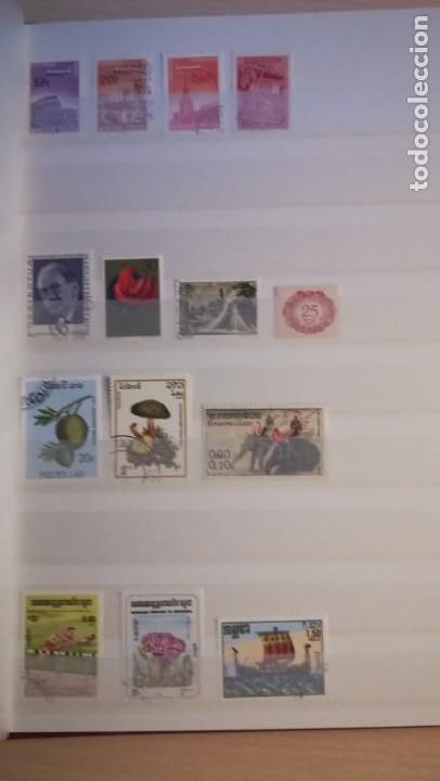 Sellos: LOTE DE 6 ALBUNES DE SELLOS MUNDIALES.MAS DE 4000 SELLOS Y MAS DE 100 PAISES - Foto 14 - 183574575