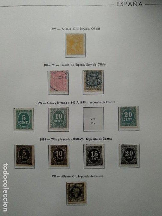 Sellos: Impresionante colección de sellos de España desde el número 1 año 1850 al número 3956 del año 2002 - Foto 7 - 187192891