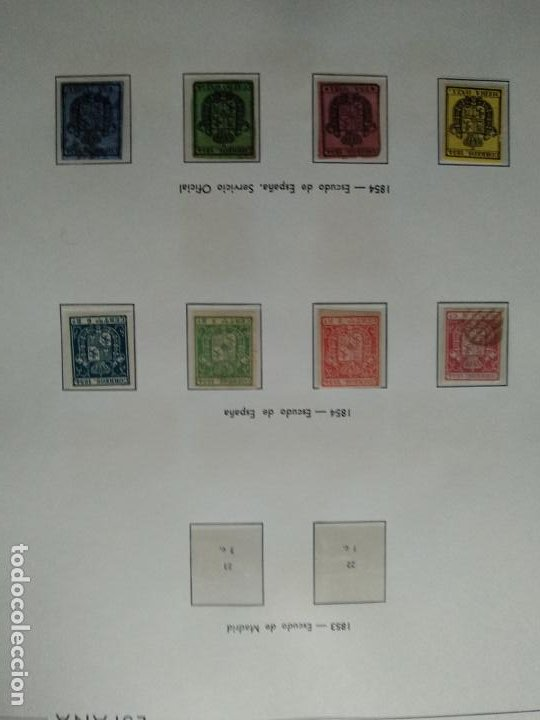 Sellos: Impresionante colección de sellos de España desde el número 1 año 1850 al número 3956 del año 2002 - Foto 8 - 187192891
