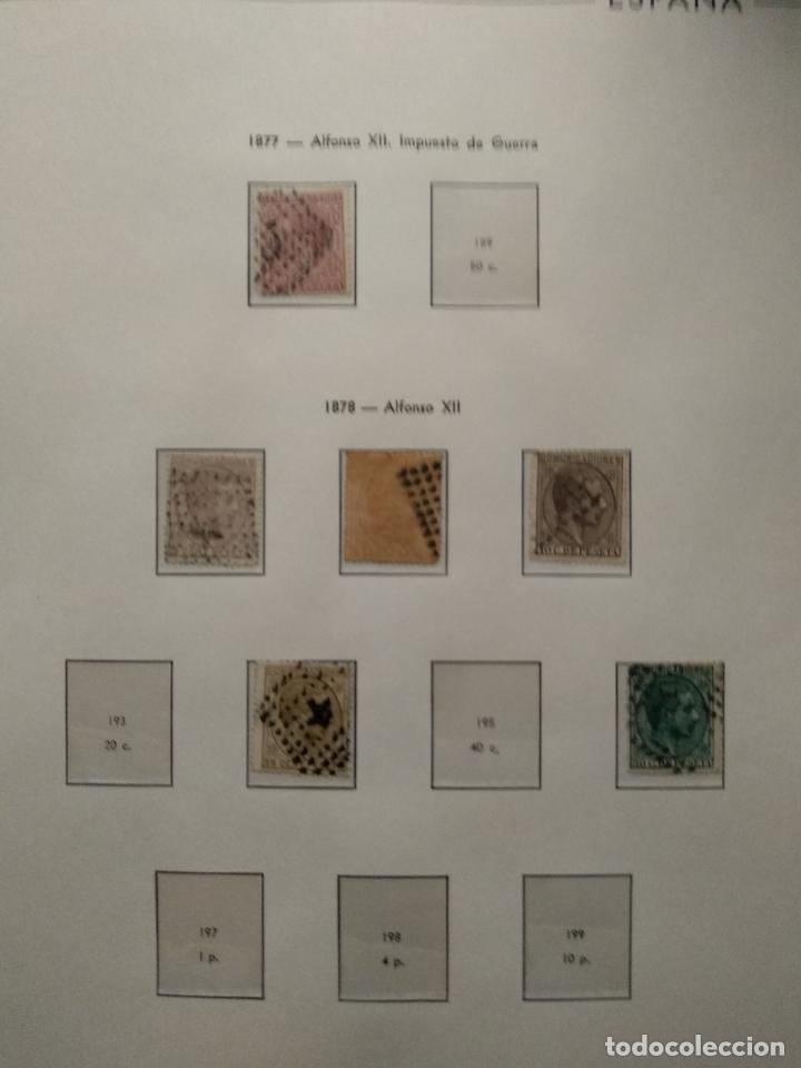 Sellos: Impresionante colección de sellos de España desde el número 1 año 1850 al número 3956 del año 2002 - Foto 12 - 187192891