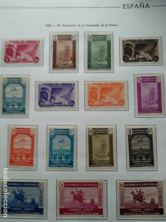 Sellos: Impresionante colección de sellos de España desde el número 1 año 1850 al número 3956 del año 2002 - Foto 39 - 187192891